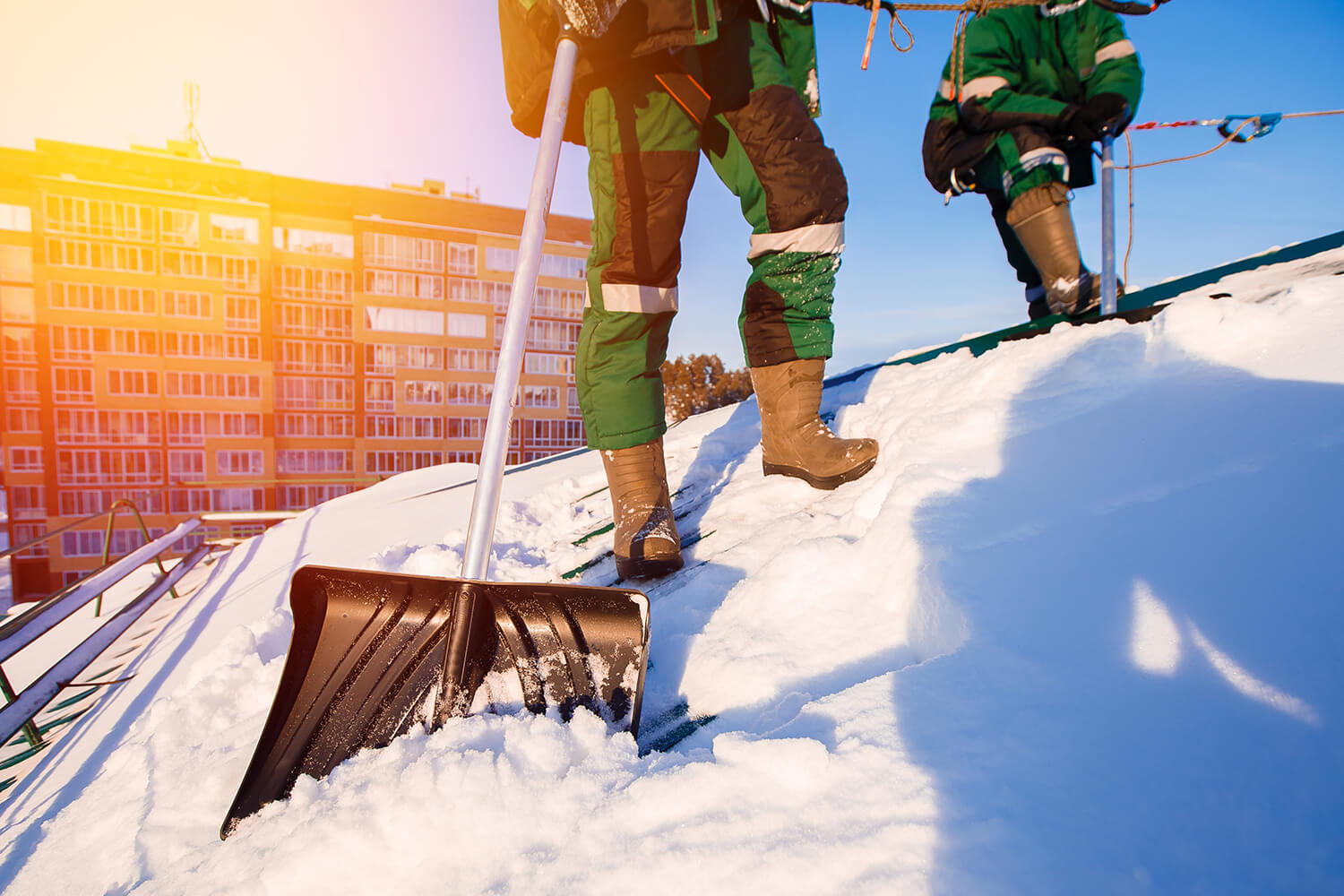 Prevent Roof Damage This Winter — Benefits of Roof Shoveling